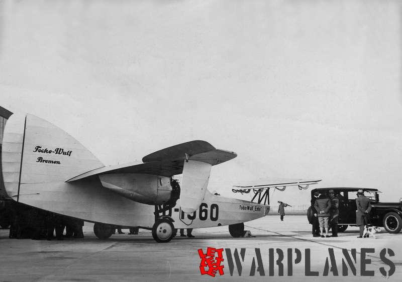 Focke Wulf D-19 Ente op Schiphol