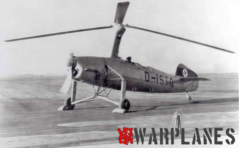 Focke Wulf FW-186V1