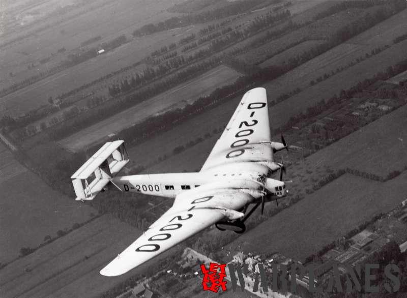 Junkers G.38 D-2000 (near Schiphol)
