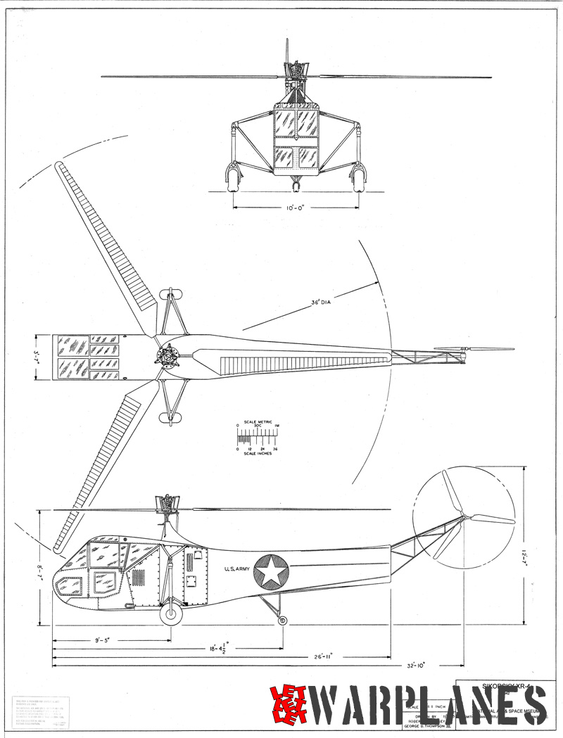 XR-4 drawings