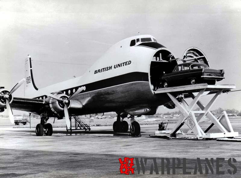 Aviation Traders ATL 98 Carvair Photo: British United Airways Copyrights: free