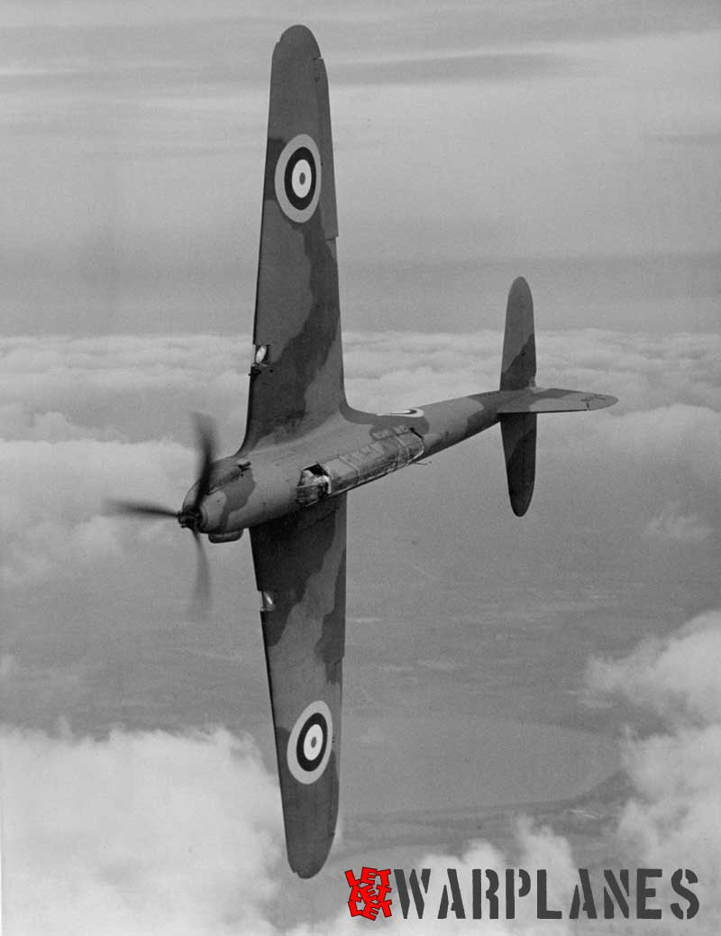K7558 was the first production Battle. We see it here during a roll. First flight was made on 14 April 1937 and it served as a test machine at the AAEE and RAE
