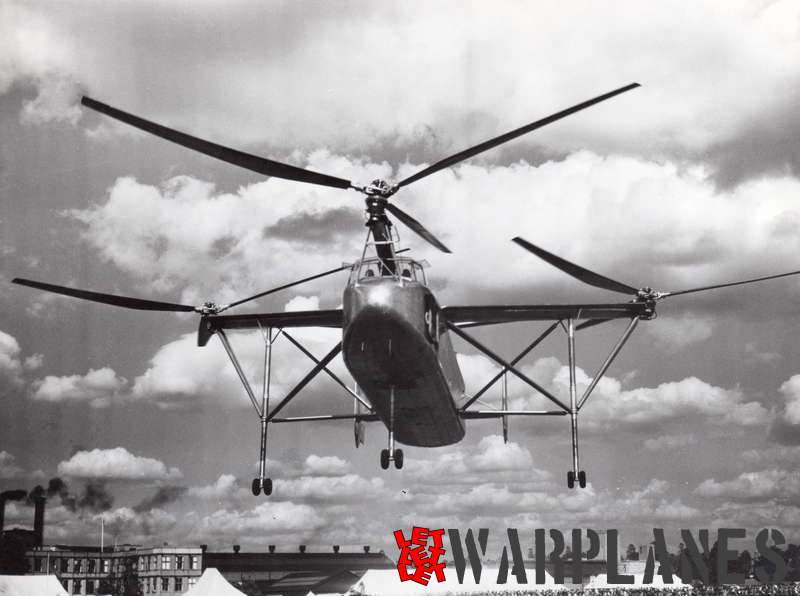 Cierva W.11 Air Horse Photo: Shell Copyrights: free provided 'a Shell photograph' is mentioned