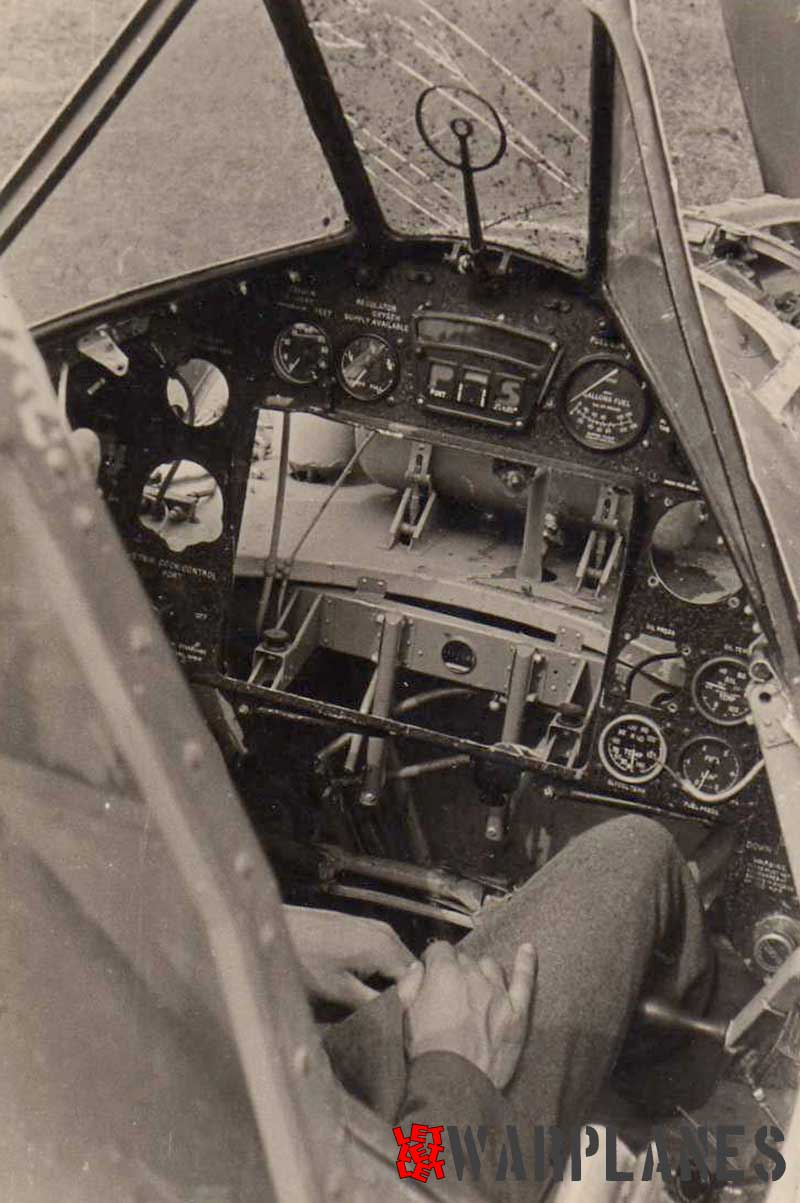 Fairey Battle cockpit interior, although not complete. (Mick Gladwin  collection)