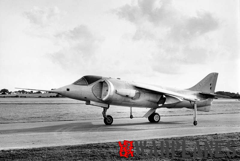 Hawker P.1127 XP831 Photo: Hawker Copyrights: free