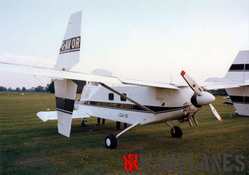Lockspeiser LDA-01, Old Warden 1978 Photo: Nico Braas