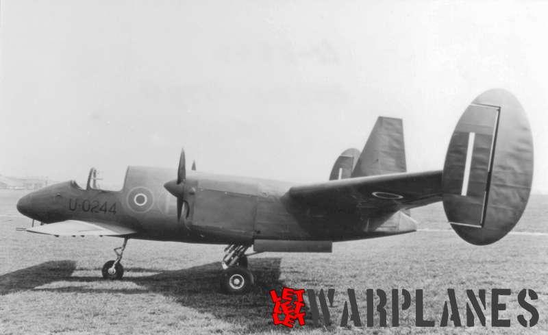 Miles M.39B Libellula