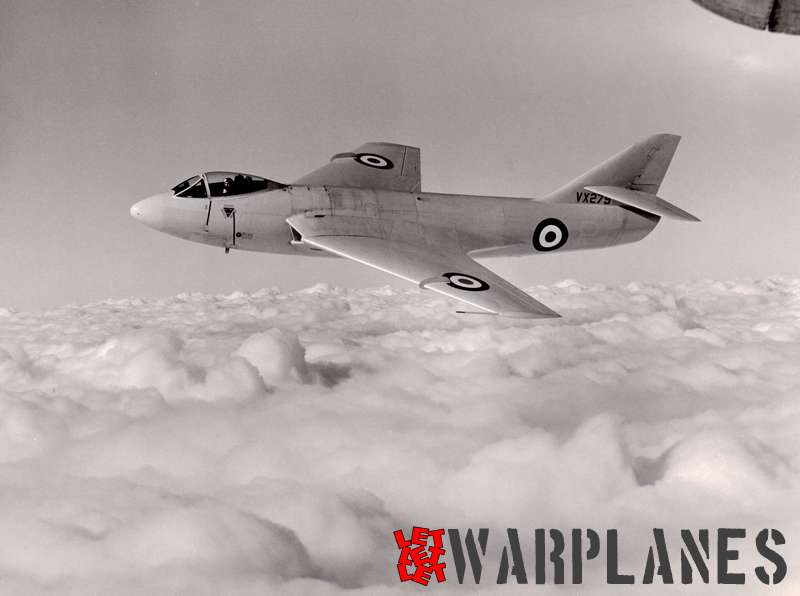 This splendid Hawker PR shot clearly shows the sleek lines of the P.1081