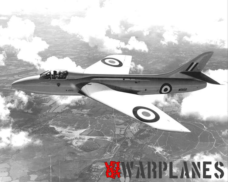A new breed: the P.1067 Hunter prototype WB188.