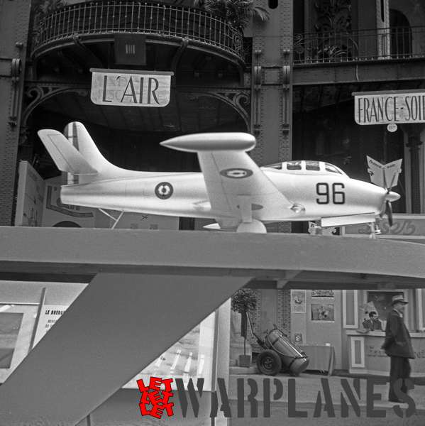 Photo 2. Bréguet Br.960 Vulture model, Aerosalon Paris 1951