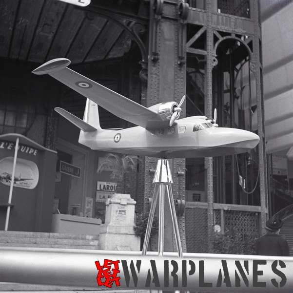 Photo 8. S.N.C.A.S.E. SE.4030 model Aerosalon Paris 1951 (B v.d. Klaauw)