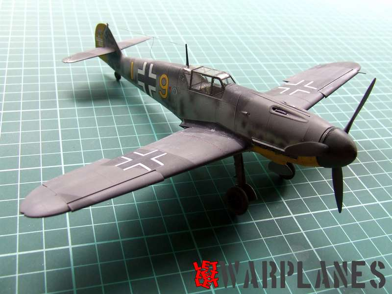 Bf 109F Eduard ProfiPACK 82115