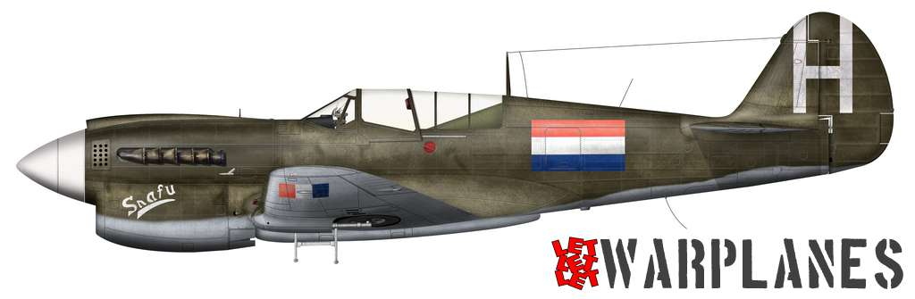 Curtiss P-40N Dutch Snafu