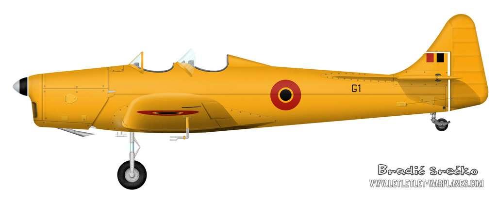Miles Magister G1 Belgium