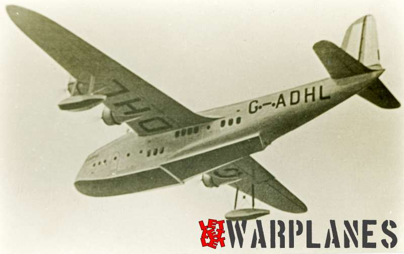 Short S.23C Empire G-ADHL 'Canopus' Imperial Airways