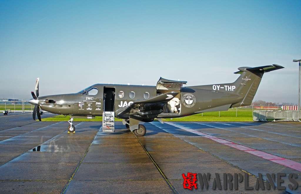 Pilatus PC-12 OY-THP Lelystad 02.12.2019