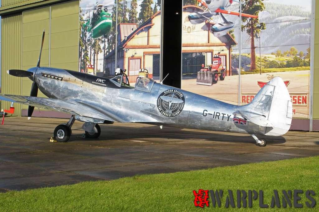 Vickers Supermarine Spitfire Mk. IX G-IRTY Lelystad 02.12.2019